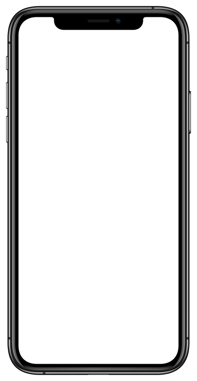 Apple iPhone Xs Mockup Template Space Grey