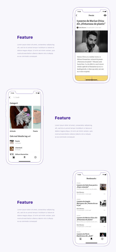 Rotated Clay iOS App Presentation Add On