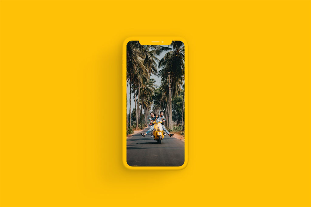iPhone Xs Clay Amber