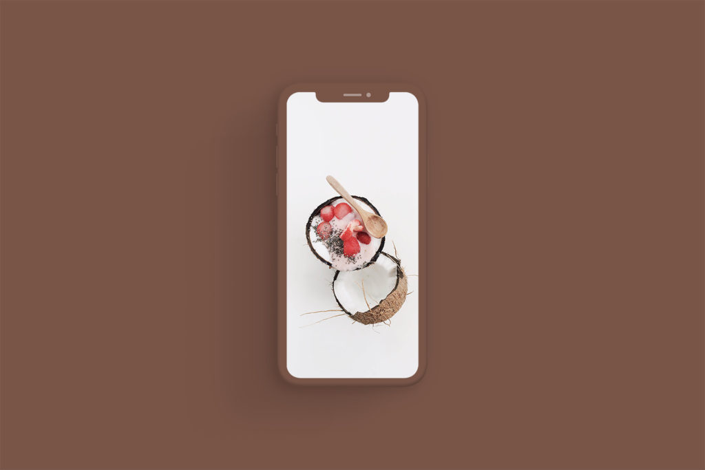 iPhone Xs Clay Brown