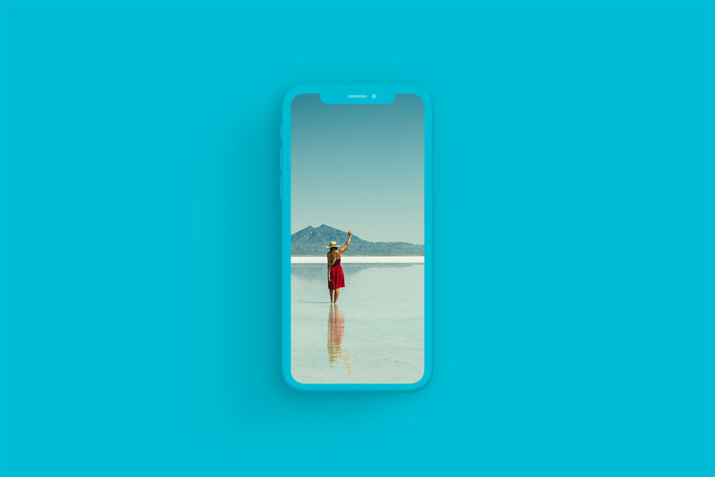 iPhone Xs Clay Cyan