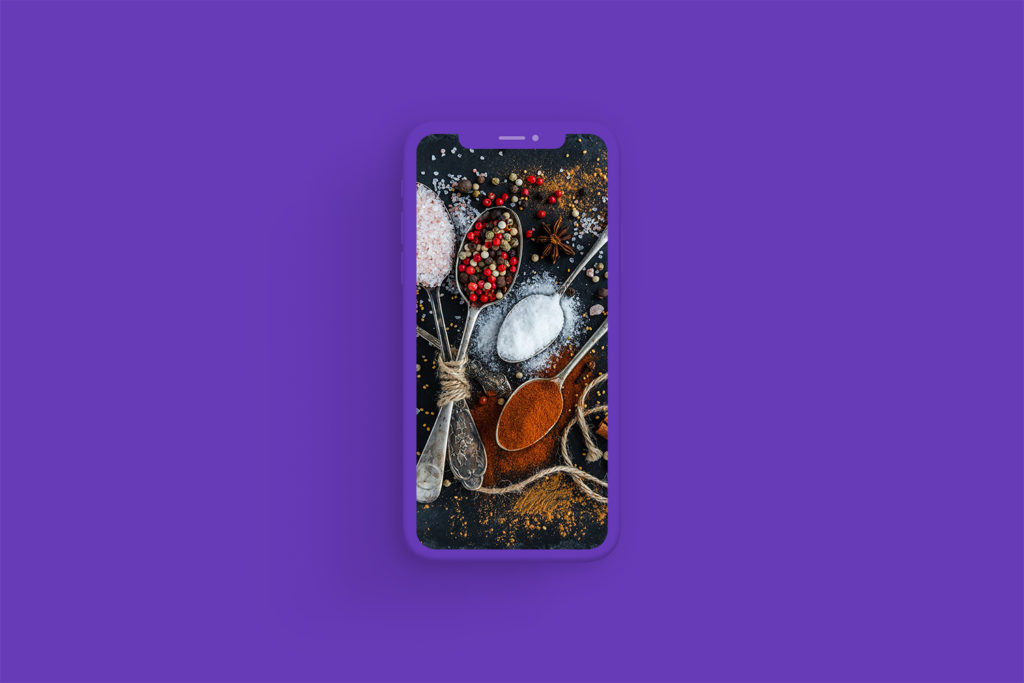 iPhone Xs Clay Deep Purple
