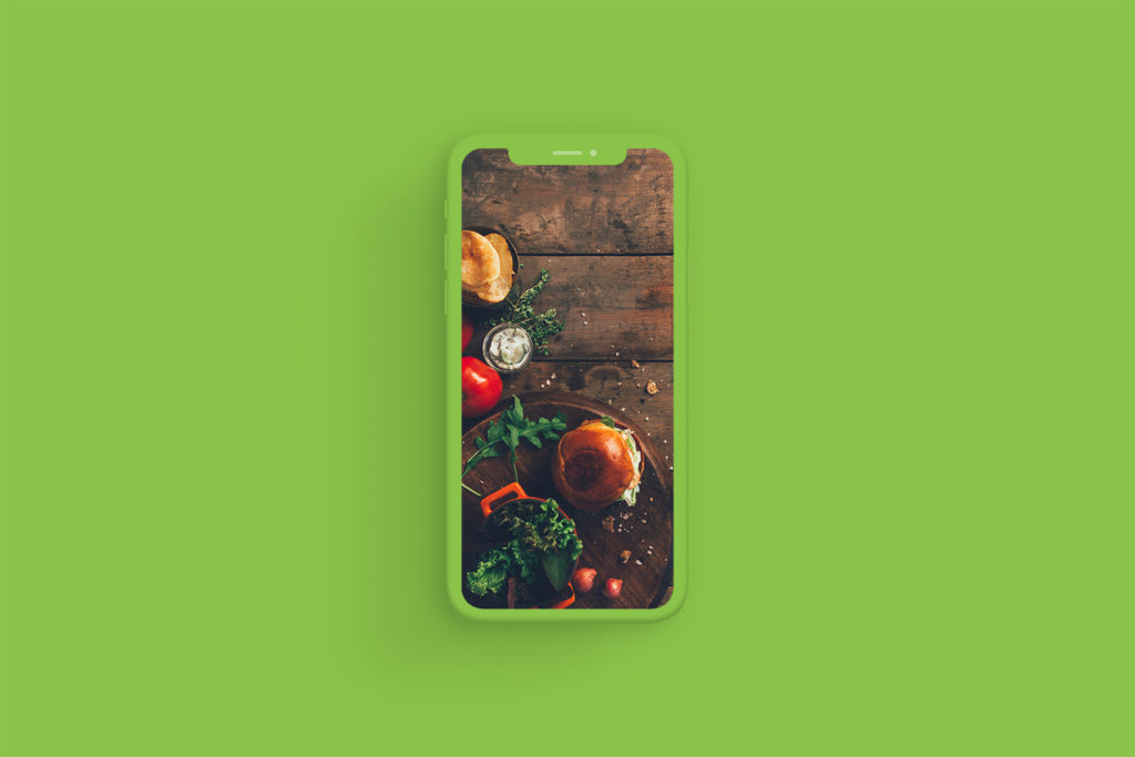 iPhone Xs Clay Light Green