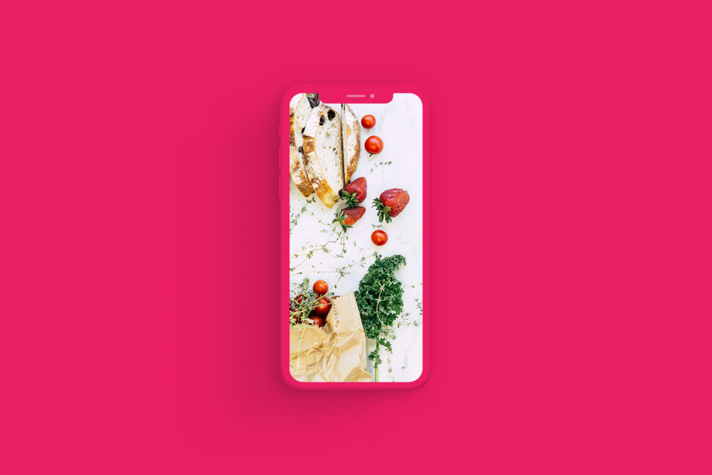 iPhone Xs Clay Pink