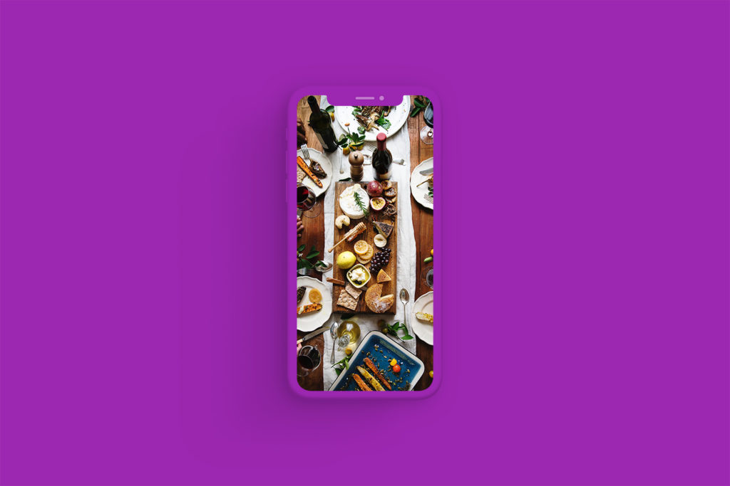 iPhone Xs Clay Purple