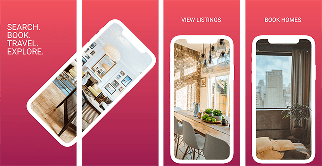 iOS Airbnb iPhone Template